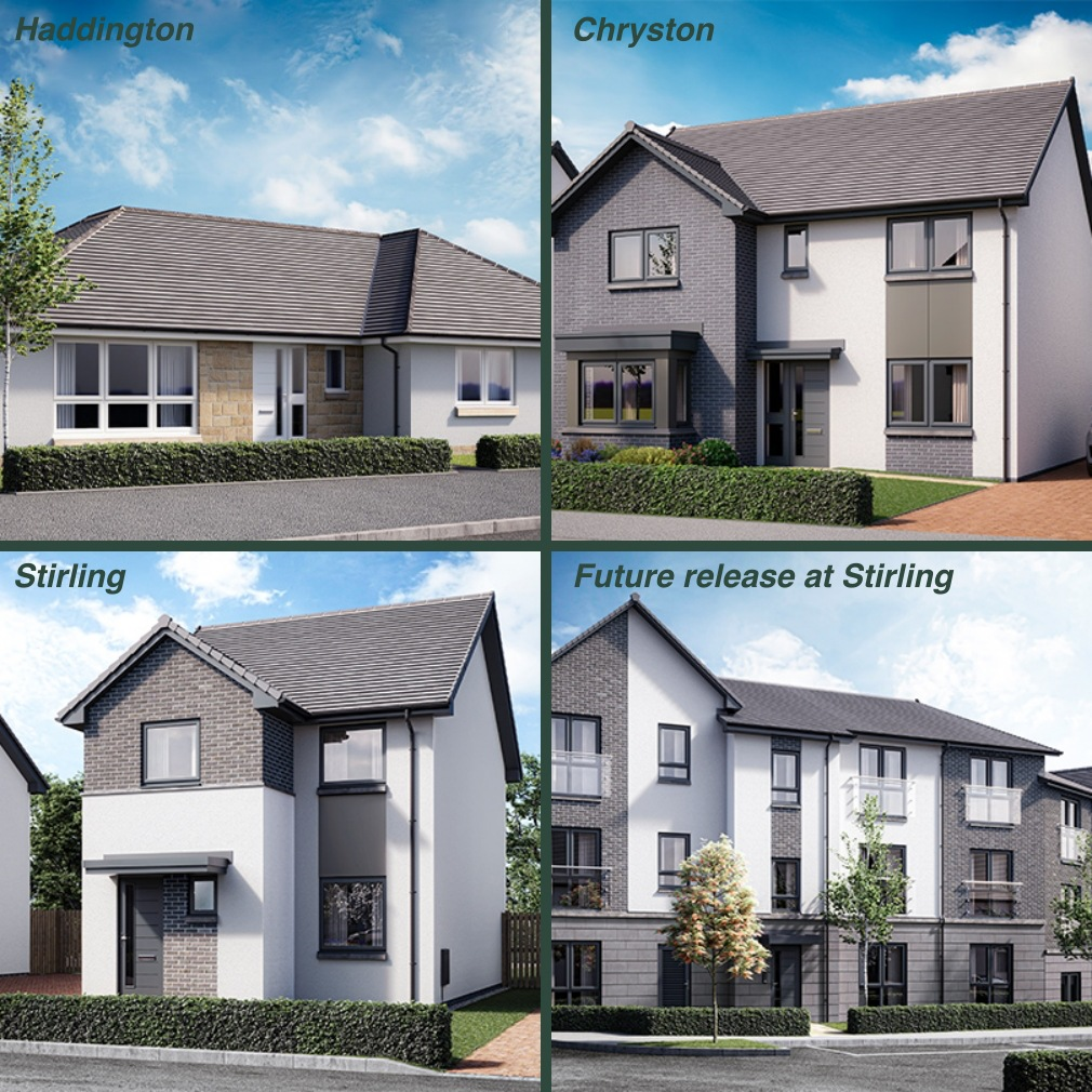 Allanwater homebuyers house types