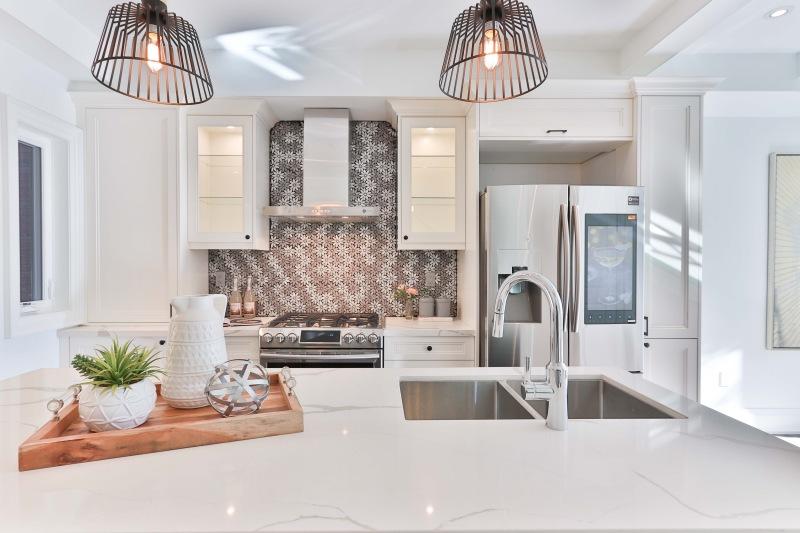 Clean tidy kitchen